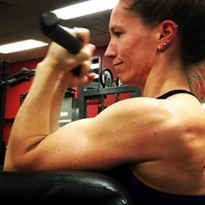 circuit training by Amy Miller trainer at Flex Fitness