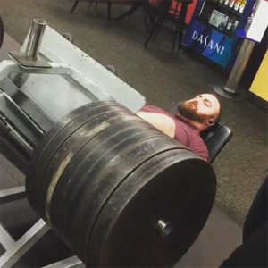 heavy leg press