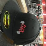 Flex Fitness Fitted Flat Bill Cap