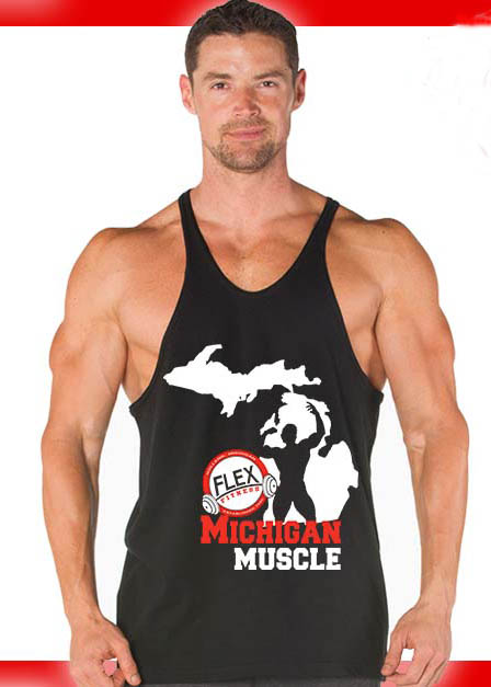 stringer tank michigan muscle bodybuilding